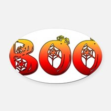 boo01.png Oval Car Magnet