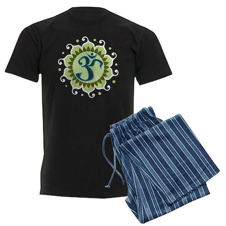 Lotus Aum Men's Dark Pajamas