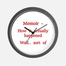 Red - Memoir, How it actually happened, well.... s