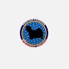 Tibetan Terrier Mini Button