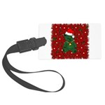 christmaspillow02.png Large Luggage Tag
