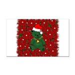 christmaspillow02.png Rectangle Car Magnet