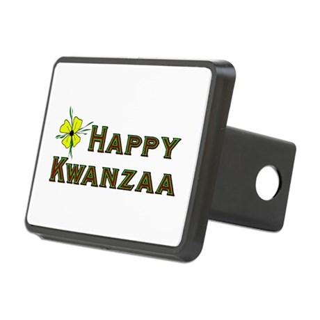 kwanzaa_greetings02.png Rectangular Hitch Cover