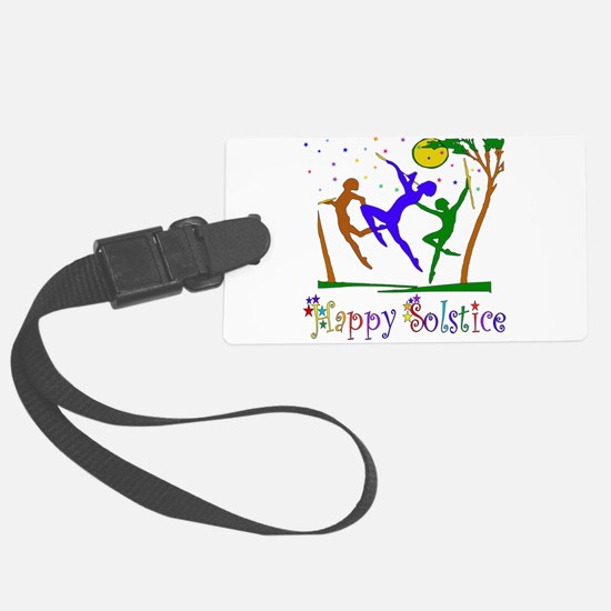 solstice_dancers01.png Luggage Tag