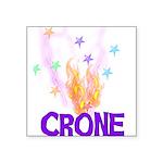 crone01.png Square Sticker 3