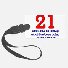 twentyfirst01.png Luggage Tag