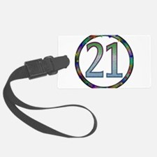 21st_birthday02.png Luggage Tag