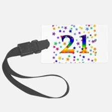 21stbirthday01.png Luggage Tag