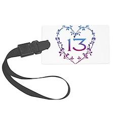 13th_birthday01.png Luggage Tag