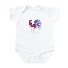 Pastel Rooster Onesie