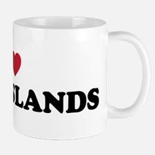 I Love Cook Islands Mug
