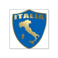"""italy T-Shirt.png Square Sticker 3"""" x 3"""""""