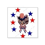 july4th_07.png Square Sticker 3