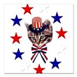 july4th_07.png Square Car Magnet 3