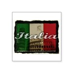 2-Italia.png Square Sticker 3