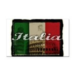 2-Italia.png Rectangle Car Magnet