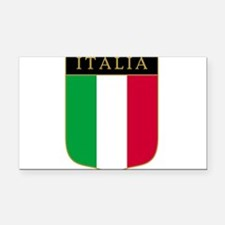 Italia Rectangle Car Magnet