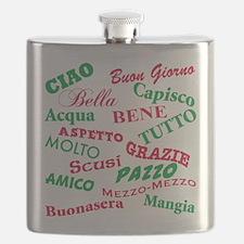 Italian sayings T-Shirt.png Flask