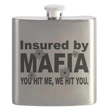 Italian INSURED BY MAFIA(BLK).png Flask