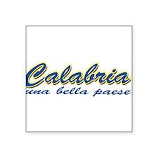 "calabria T-Shirt.png Square Sticker 3"" x 3"""