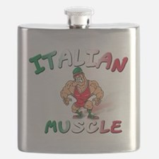Italian muscle T-Shirt.png Flask