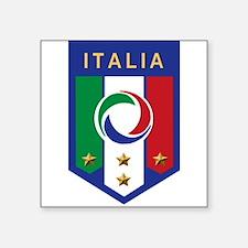 """italian emblem.png Square Sticker 3"""" x 3"""""""