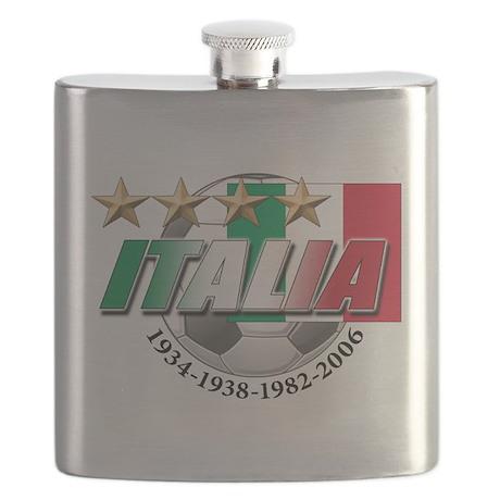 italia soccer T-Shirt.png Flask
