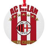 Ac milan Round Ornament