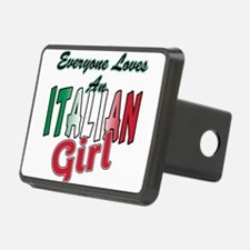 Italian girl T-Shirt.png Hitch Cover