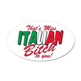 New jersey italian Car Magnets