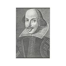Wacky Shakespeare Rectangle Magnet