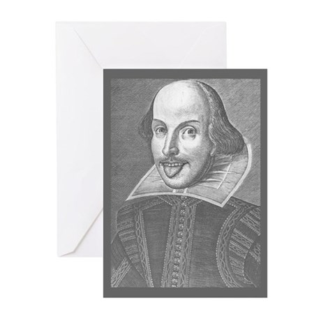 Wacky Shakespeare Greeting Cards (Pk of 10)