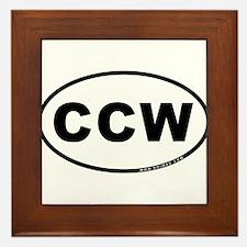 CCW Framed Tile