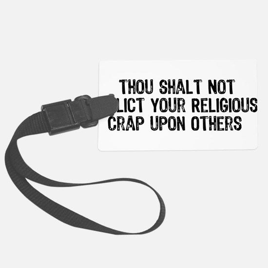 religious_crap01.png Large Luggage Tag