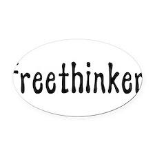 freethinker01.png Oval Car Magnet