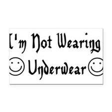 underwear01.png Rectangle Car Magnet