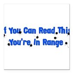 target_practice01.png Square Car Magnet 3