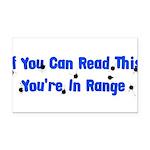 target_practice01.png Rectangle Car Magnet
