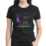 Pancreatic Cancer Stand Women's Dark T-Shirt