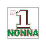 nonna(blk).png Square Sticker 3