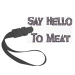 meat01.png Large Luggage Tag