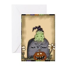 Halloween Frog Greeting Cards (Pk of 10)