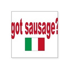 """itt aint sauce(blk).png Square Sticker 3"""" x 3"""""""
