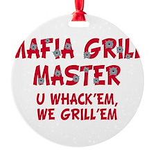 Mafia grill master (blk)T-Shirt.png Ornament