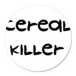 a1_cerealkiller01.png Round Car Magnet