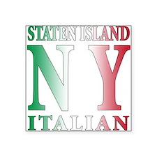 "staten islandi NEW NY.png Square Sticker 3"" x 3"""