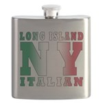 italian Long island T-Shirt.png Flask