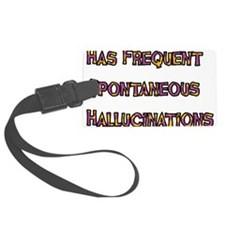hallucinations01.png Luggage Tag