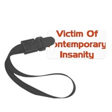 insanity01.png Luggage Tag