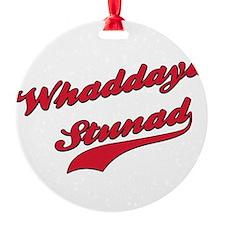 Whaddaya Stunad.png Ornament